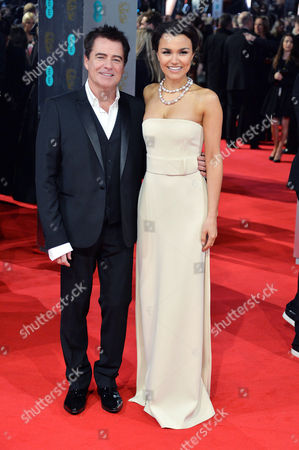 British Academy of Film Awards at the Royal Opera House Charles Worthington and Samantha Barks