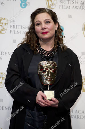 Ee British Academy Film Awards Press Room at the Royal Opera House Tessa Ross Collects Her Award For Outstanding Contribution to Cinema