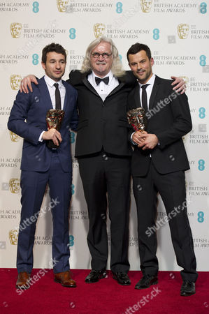 Ee British Academy Film Awards Press Room at the Royal Opera House Bart Layton and Dimitri Doganis Collect the Award For Outstanding Debut For 'The Imposter' Presented by Billy Connolly