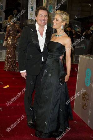 Ee British Academy Film Awards Vip Arrivals at the Royal Opera House Charles Worthington and Emilia Fox