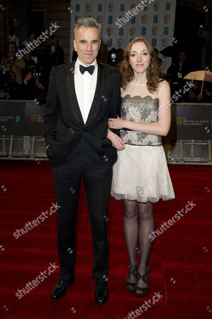 Ee British Academy Film Awards Vip Arrivals at the Royal Opera House Daniel Day Lewis with His Niece Charissa Shearer