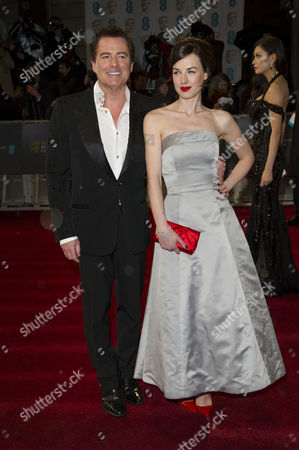 Ee British Academy Film Awards Vip Arrivals at the Royal Opera House Charles Worthington and Jessica Raine