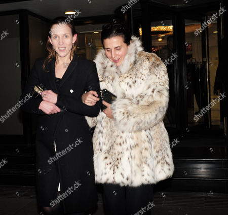 the Conservative Party Black and White Election Fund Raiser Ball at the Ballroom the Grosvenor House Hotel Park Lane London Kate Fall ( L )