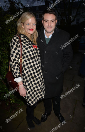 'The Launch of Deserter the Last Untold Story of the 2ww' Book Party at A Private Residence in Notting Hill Lady Eloise Anson with Her Boyfriend Louis Waymouth