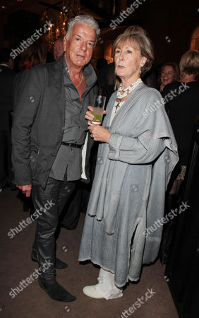 Book Publication Party For 'Inheritance' at Asprey Old Bond Steet Nicky Haslam and Patti Palmer Tomkinson