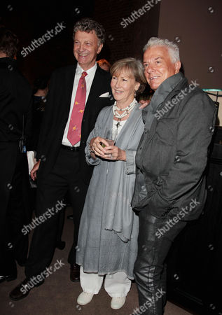 Stock Photo of Book Publication Party For 'Inheritance' at Asprey Old Bond Steet Nicky Haslam and Patti Palmer Tomkinson