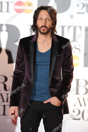 Brit Awards 2011 Arrivals at the 02 Arena Greenwich Eric Turner