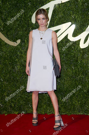 Stock Photo of British Fashion Awards Arrivals at the Coliseum Annabel Watts