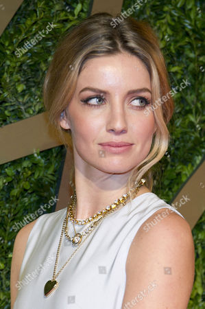 Stock Image of British Fashion Awards Arrivals at the Coliseum Annabel Watts
