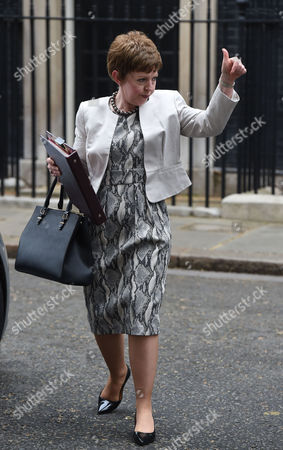 02 06 2015 Cabinet Meeting at Number 10 Downing Street Leader of the House of Lords Baroness Stowell of Beeston