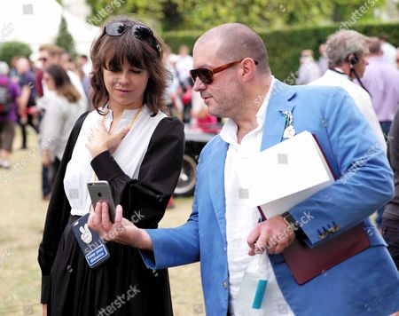 Cartier 'Style Et Luxe' at the Festival of Speed Goodwood House Sir Jonathan Ive and Charlotte Stockdale