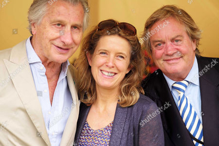 Cartier 'Style Et Luxe' at the Festival of Speed Goodwood House Arnaud Bamberger Jamie Spencer-churchill 12th Duke of Marlborough with His Wife Duchess Edla