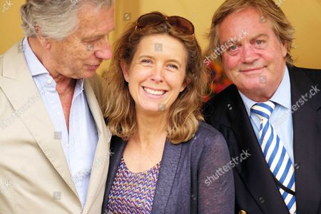 Stock Photo of Cartier 'Style Et Luxe' at the Festival of Speed Goodwood House Arnaud Bamberger Jamie Spencer-churchill 12th Duke of Marlborough with His Wife Duchess Edla