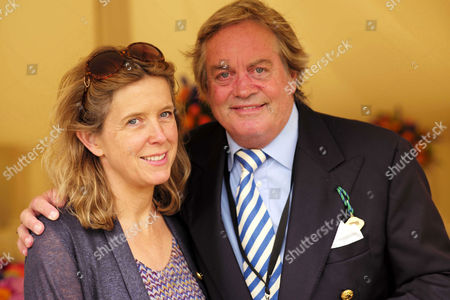 Cartier 'Style Et Luxe' at the Festival of Speed Goodwood House Jamie Spencer-churchill 12th Duke of Marlborough with His Wife Duchess Edla