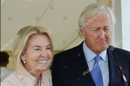 Cartier Queens Cup at Smiths Lawn Windsor Hilary and Galen Weston