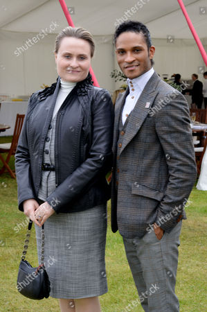 Cartier Queens Cup at Smiths Lawn Windsor Fernando Montano (r)