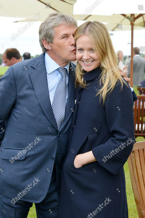 Cartier Queens Cup at Smiths Lawn Windsor Kate Reardon with Her Husband Charles Gordon-watson