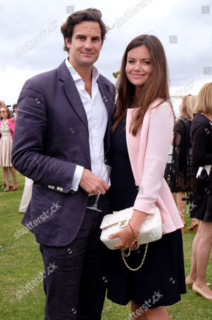 Cartier Queens Cup Final at Smiths Lawn Windsor Great Park Berkshire Lady Natasha Rufus-isaacs and Rupert Finch