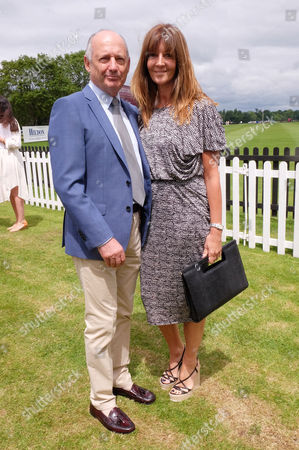 Cartier Queens Cup Final at Smiths Lawn Windsor Great Park Berkshire Ron Dennis with His Partner Carol Weatherall