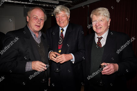 Catherine Mayer ' Charles Heart of A King' Book Launch Party at Foyles Book Shop Charing Cross Road London Anthony Holden Geoffrey Robinson Qc & Stanley Johnson