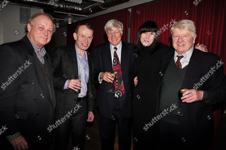 Catherine Mayer ' Charles Heart of A King' Book Launch Party at Foyles Book Shop Charing Cross Road London Anthony Holden Andrew Marr Geoffrey Robinson Qc Catherine Mayer & Stanley Johnson