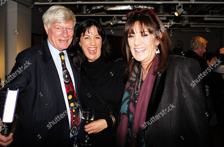 Catherine Mayer ' Charles Heart of A King' Book Launch Party at Foyles Book Shop Charing Cross Road London Geoffrey Robinson Qc Polly Samson & Dame Gail Rebuck