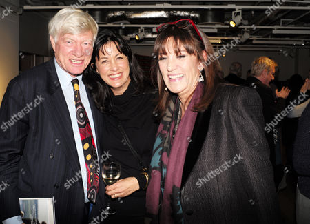 Stock Picture of Catherine Mayer ' Charles Heart of A King' Book Launch Party at Foyles Book Shop Charing Cross Road London Geoffrey Robinson Qc Polly Samson & Dame Gail Rebuck