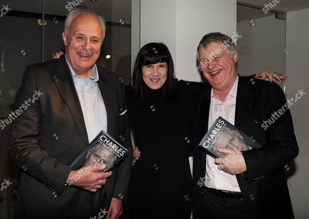 Catherine Mayer ' Charles Heart of A King' Book Launch Party at Foyles Book Shop Charing Cross Road London Lord Mark Malloch Brown & Catherine Mayer