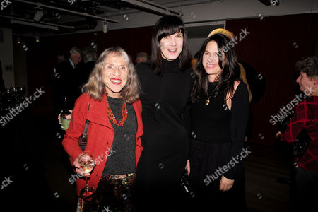 Catherine Mayer ' Charles Heart of A King' Book Launch Party at Foyles Book Shop Charing Cross Road London Helen Mayer and Her Daughters Catherine Mayer & Lise Mayer