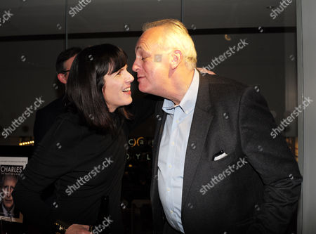 Catherine Mayer ' Charles Heart of A King' Book Launch Party at Foyles Book Shop Charing Cross Road London Catherine Mayer and Lord Mark Malloch Brown