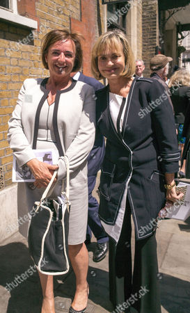 Service of Celebration For the Life of Jeremy Lloyd Obe at St James Church Piccadilly Rosa Monckton and Maya Von Schoenburg