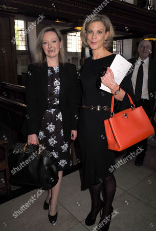 Service of Celebration For the Life of Jeremy Lloyd Obe at St James Church Piccadilly Ffion Hague and Amanda Staveley