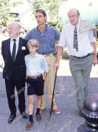Charity Premiere of 'Danny the Champion of the World' with Afterparty at Stringfellow's Nightclub Cyril Cusack Jeremy Irons with His Son Samuel and Roald Dahl