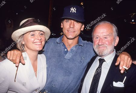 Charity Premiere of 'Danny the Champion of the World' with Afterparty at Stringfellow's Nightclub Jeremy Irons with His Wife Sinead Cusack and Her Father Cyril Cusack