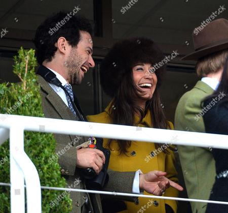 Cheltenham Festival Thursday Marcus Waley-cohen with Pippa Middleton
