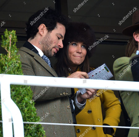 Stock Picture of Cheltenham Festival Thursday Marcus Waley-cohen with Pippa Middleton