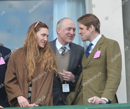 Cheltenham Festival Thursday Ben Eliott with His Wife Mary-clare Windward