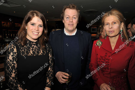 Chinese New Year Party at China Tang Dorchester Hotel Eugenie Princess of York Tom Parker Bowles and Lady Aliai Forte