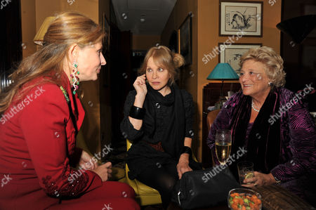 Chinese New Year Party at China Tang Dorchester Hotel Lady Aliai Forte Anouska Hempel and Dame Vivien Duffield