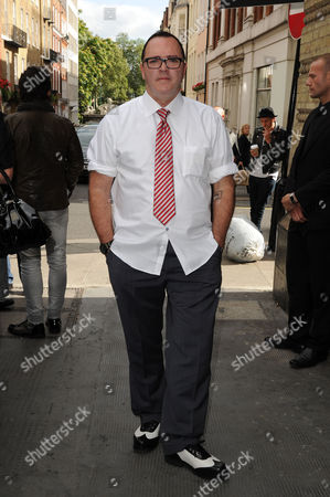 Stock Photo of Christopher Ciccone Launches His Debut Footwear Line Ciccone During London Fashion Week 2012