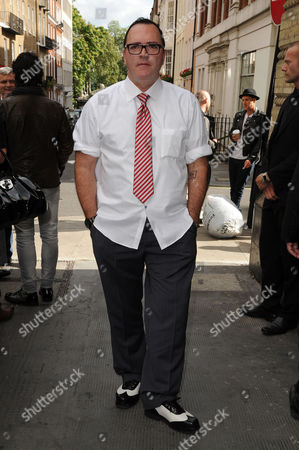 Stock Image of Christopher Ciccone Launches His Debut Footwear Line Ciccone During London Fashion Week 2012