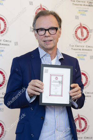 Critics Circle Theatre Awards 2015 at the Prince Charles Theatre Jonathan Kent - Winner of Best Musical 'Gypsy'