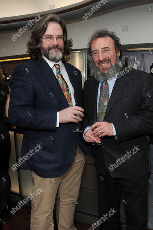 Critics Circle Theatre Awards 2015 at the Prince Charles Theatre Antony Sher with His Partner Gregory Doran