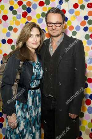 Private View For the First Major Damien Hirst Exhibition in the Uk at the Tate Modern Jonathan Yeo and Shebah Ronay