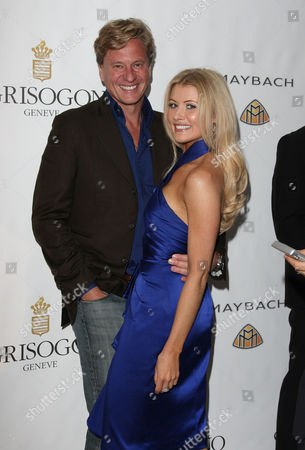 De Grisogono Party at Eden Roc During the 63rd Cannes Film Festival Rob Hersov with His Wife Dr Katie James