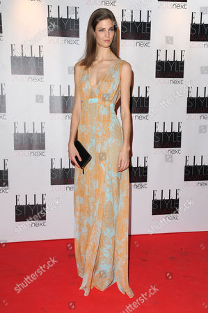 Elle Style Awards Red Carpet Arrivals at the Savoy Hotel Kendra Spears