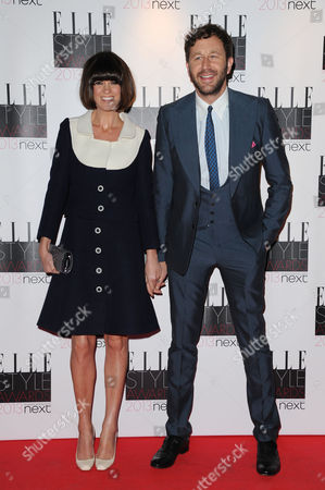 Elle Style Awards Red Carpet Arrivals at the Savoy Hotel Chris O'dowd with His Wife Dawn Porter