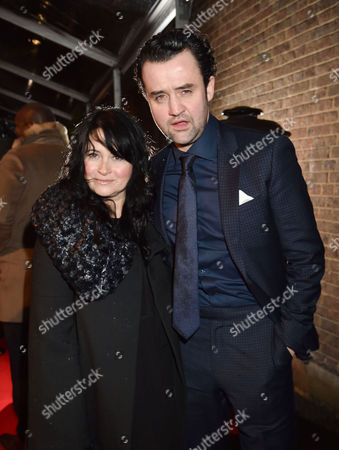 Evening Standard London Film Awards at Bbc Tv Centre Wood Lane Daniel Mays with His Wife Louise Burton