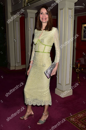 Evening Standard 60th Theatre Awards at the London Palladium Theatre Plum Sykes