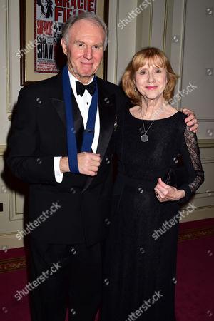 Evening Standard 60th Theatre Awards at the London Palladium Theatre Tim Pigott-smith with His Wife Pamela Miles